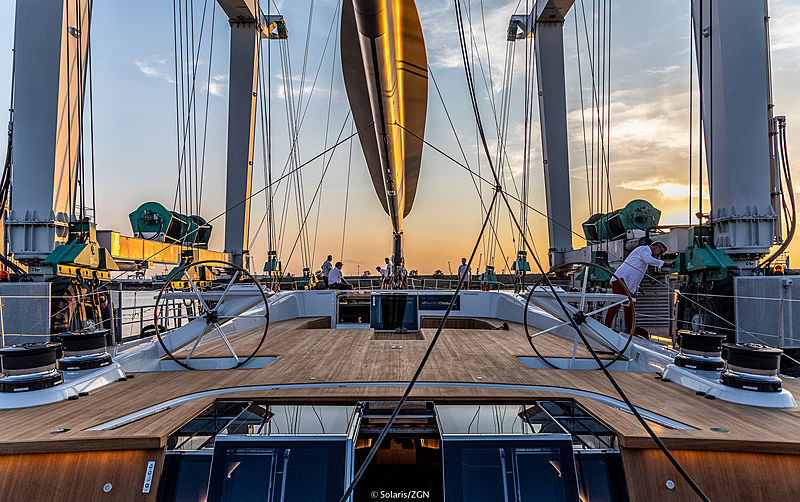 Cefea yacht launch in Aquileia