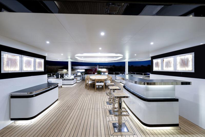 CMB Yachts 47M Liquid Sky Upper Deck