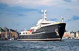 Legend yacht anchored