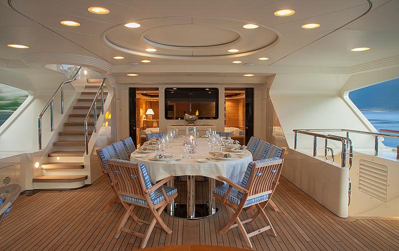 Jo yacht deck