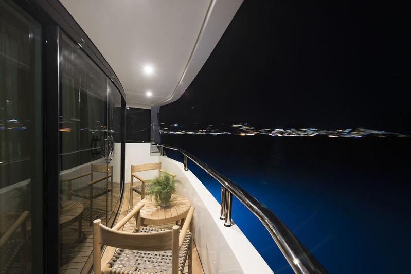 CMB Yachts 47M Liquid Sky Balcony