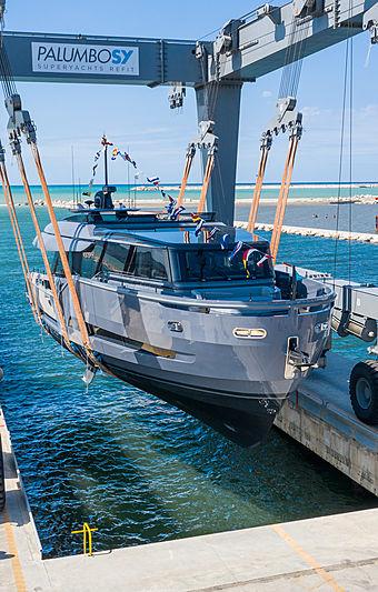 Haze yacht launch in Ancona