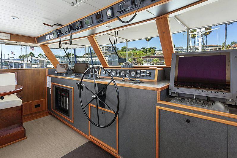Nordic Star yacht wheelhouse