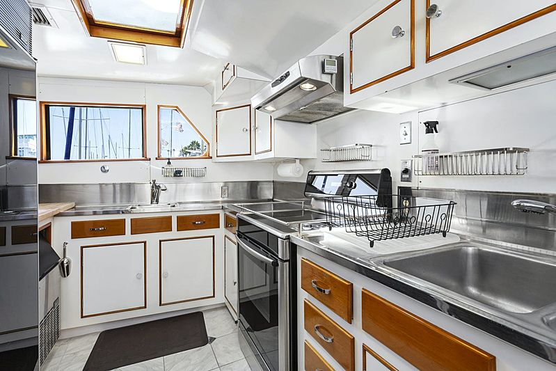 Nordic Star yacht galley