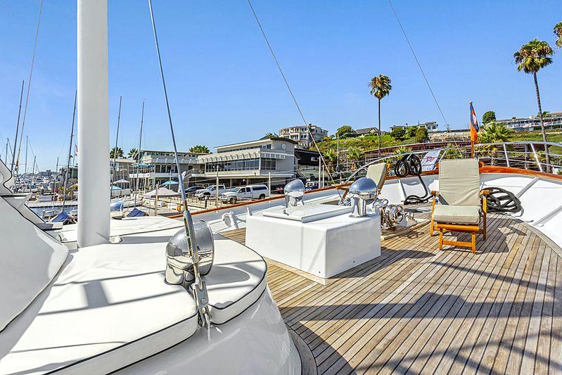 Nordic Star yacht deck