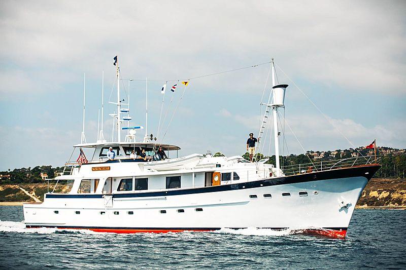 Nordic Star yacht cruising