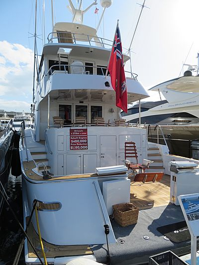 Seaquest yacht at Miami Yacht Show 2020