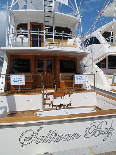 Sullivan Bay yacht at Miami Yacht Show 2020
