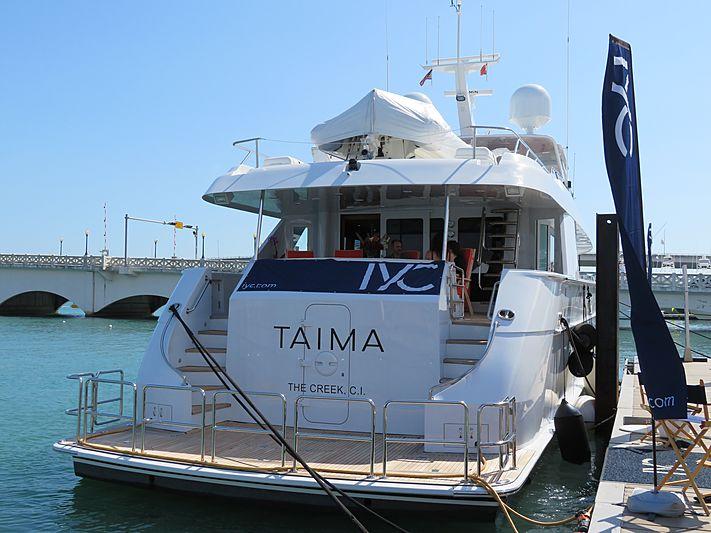 TAIMA yacht Hatteras