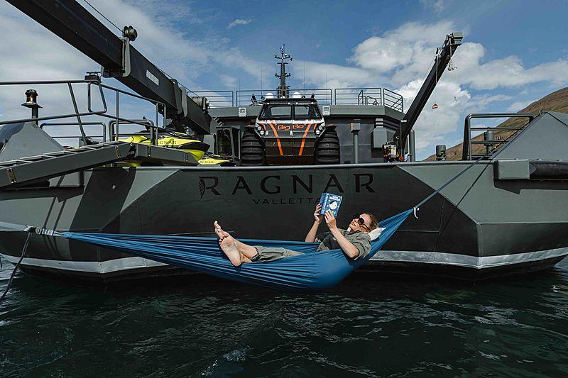 Ragnar yacht stern