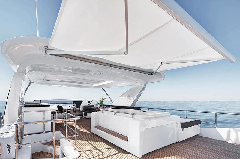 Concetta Marie yacht sundeck