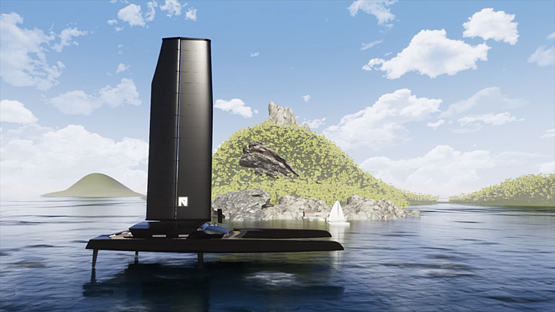 Nemesis One yacht rendering