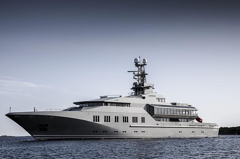 Skat yacht by Lürssen