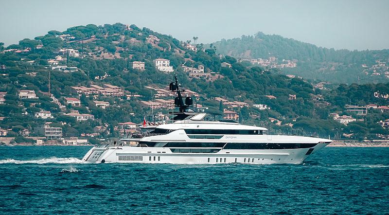Lady Lena yacht by Sanorenzo in St Tropez