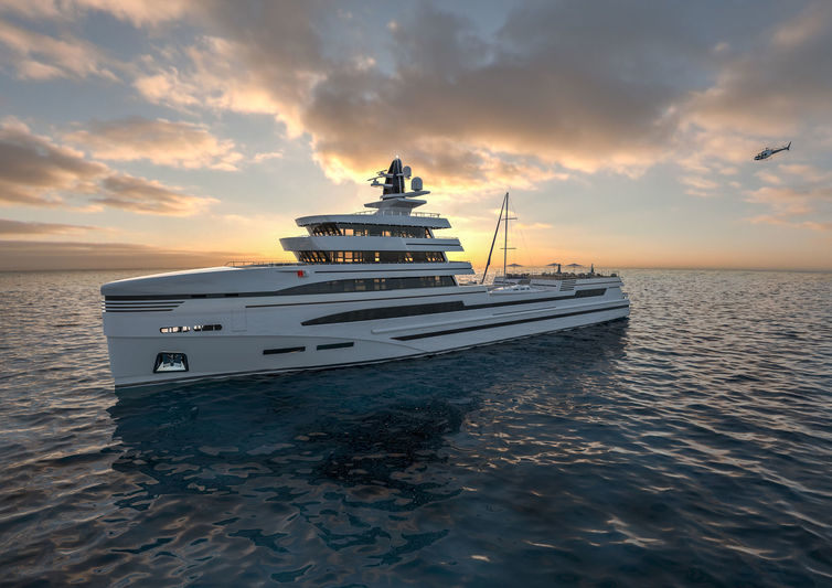 Rosetti concept 85m supply vessel- Exterior