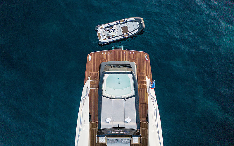 Bagheera yacht interior
