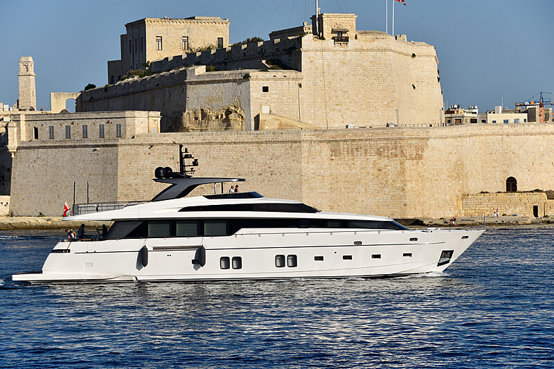 XO yacht by Sanlorenzo in Malta