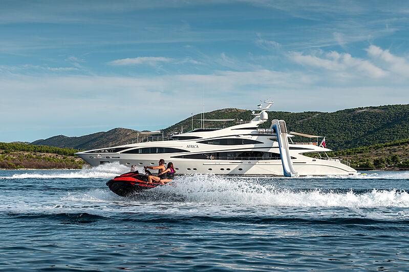 Africa I yacht cruising