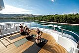 Africa I yacht deck