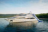 Africa I yacht with slide