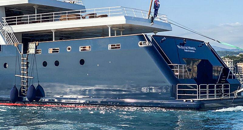 Bleu de Nimes yacht
