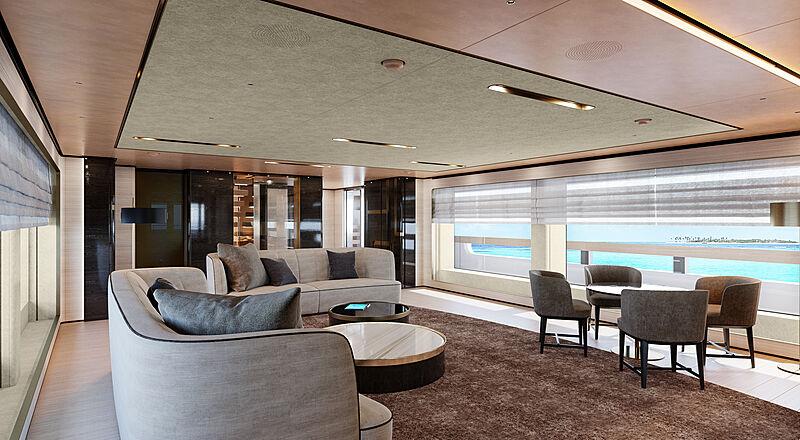 Baglietto 10233 yacht interior