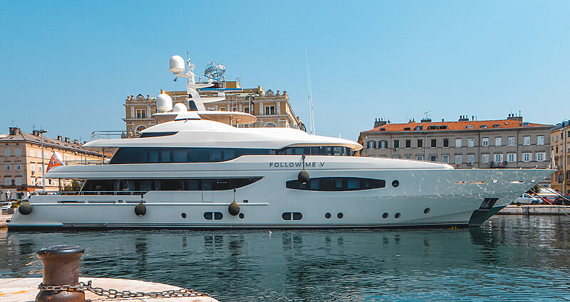 Follow Me V yacht in Rijeka, Croatia
