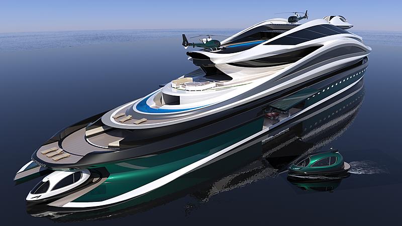 Avanguardia yacht concept