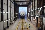 Dancing Hare at Balk Shipyard in Urk