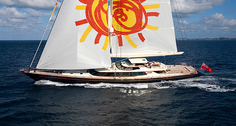 Tiara yacht sailing