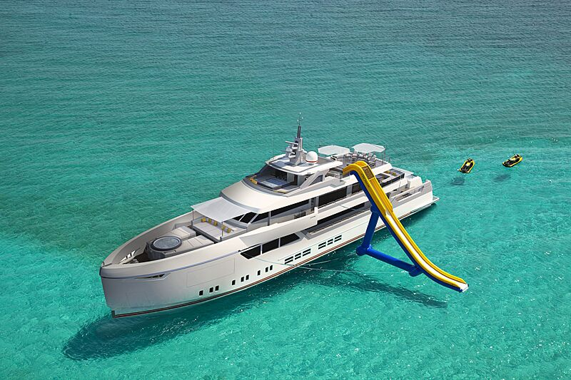 45m Lovesong yacht concept by Gian Paolo Nari