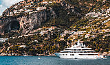 Quantum Blue yacht by Lürssen in Amalfi
