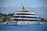Moonrise yacht by Feadship in Split, Croatia