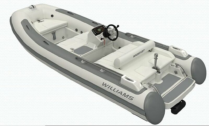 WILLIAMS SPORTJET 435 tender Williams Performance Tenders