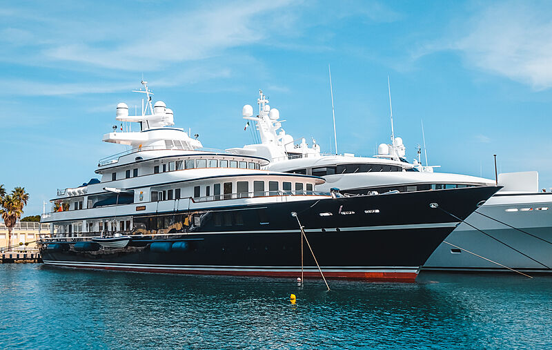Leander G yacht in Imperia, Italy