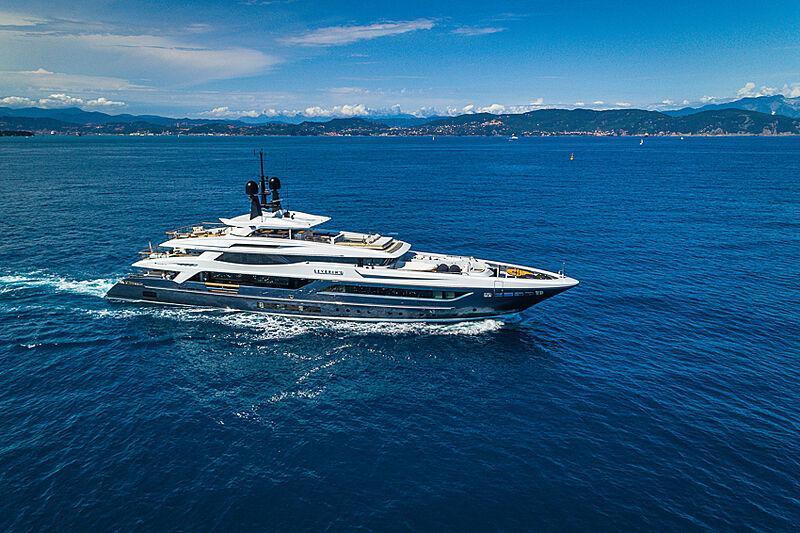 Severin*s yacht cruising