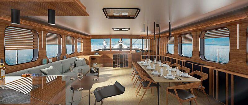 MiTi One yacht concept