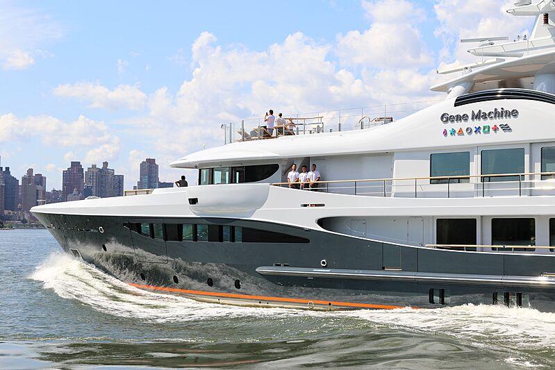 Gene Machine yacht cruising