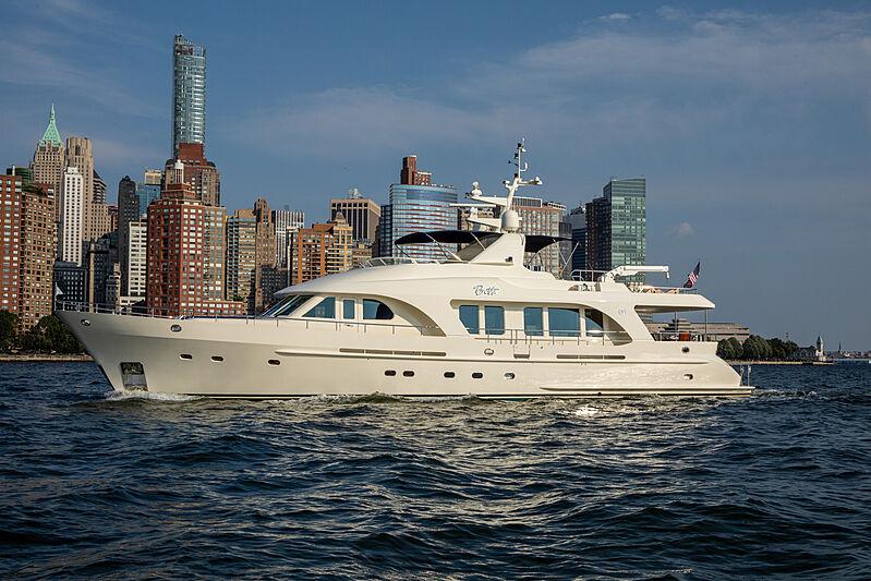 Botti yacht anchored