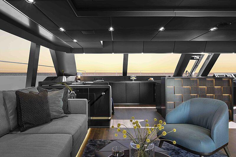 Sunreef 80 Power #06 yacht saloon