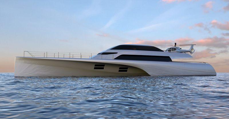 MC155 trimaran - Concept