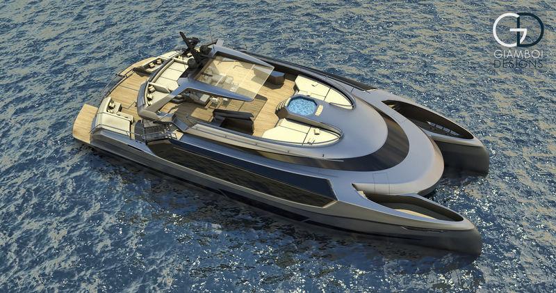 The 36m EGO catamaran - Concept