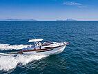 Libeccio 11 tender cruising