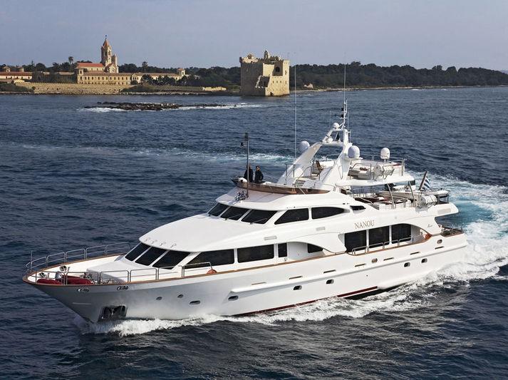 NANOU yacht Benetti