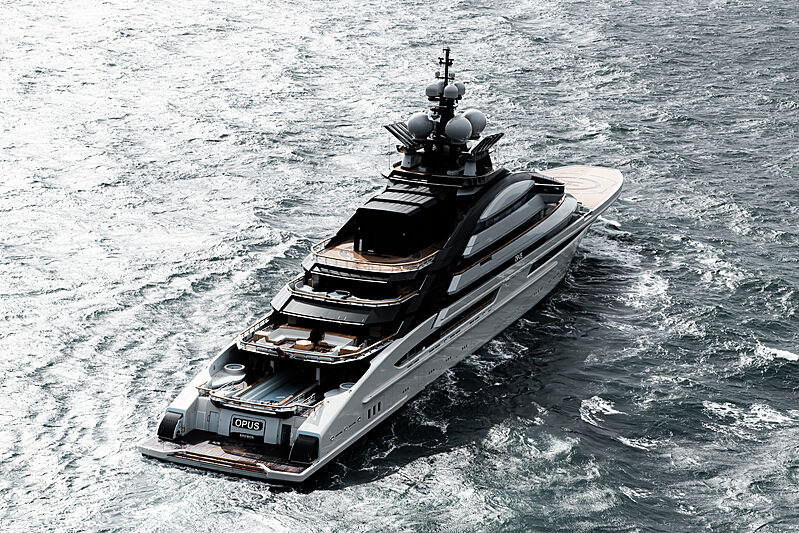 Opus yacht by Lürssen sea trials