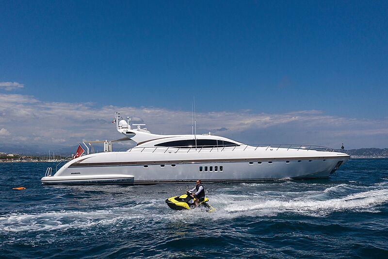 Fatamorgana yacht cruising