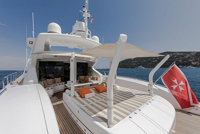 Fatamorgana yacht deck