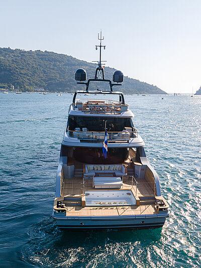 Rebeca yacht by Benetti in Porto Venere