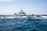 Valerie yacht with tender