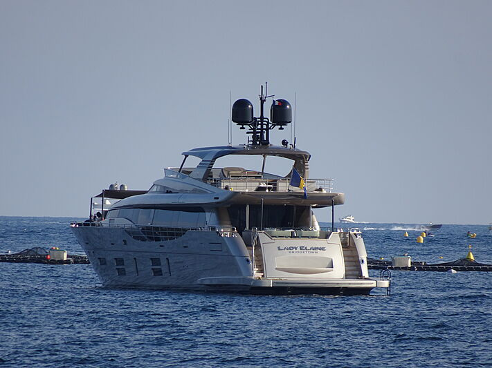 Lady Elaine yacht by Canados in Juan-le-Pins